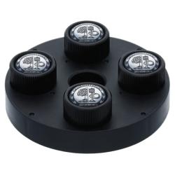 Bouchon de valves AMG noir